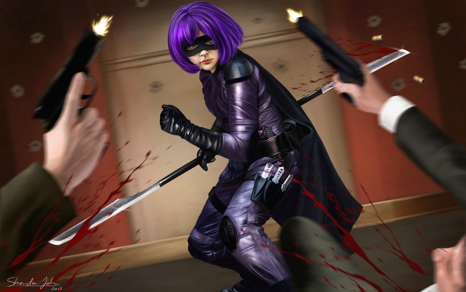 Das Hit-Girl aus Kick Ass