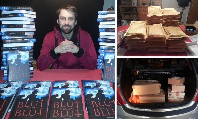 Benjamin Spang veröffentlicht seinen Roman Blut gegen Blut