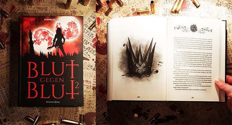 """Der neue Roman """"Blut gegen Blut 2"""" von Benjamin Spang"""